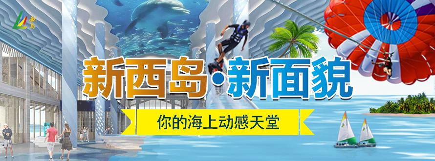 西岛免票营销广告