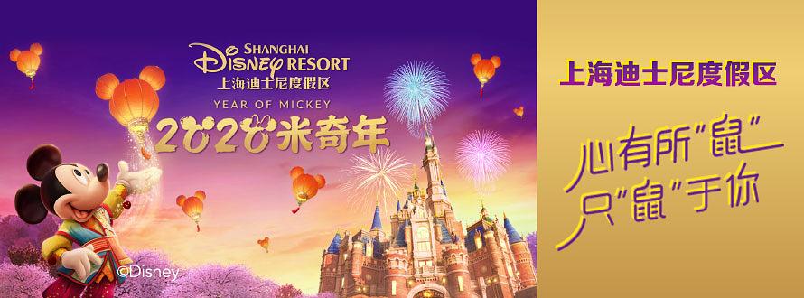 上海迪士尼(20新年)