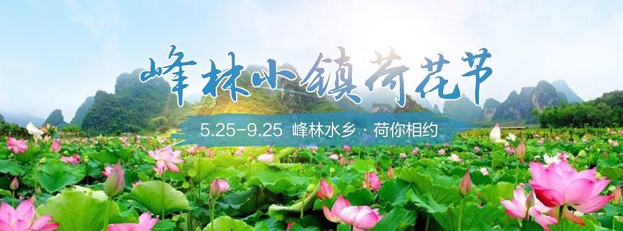 峰林小镇荷花节