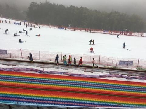 大别山南武当滑雪场