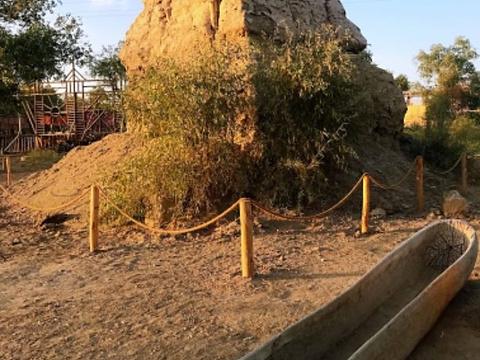 罗布人村寨旅游景点图片