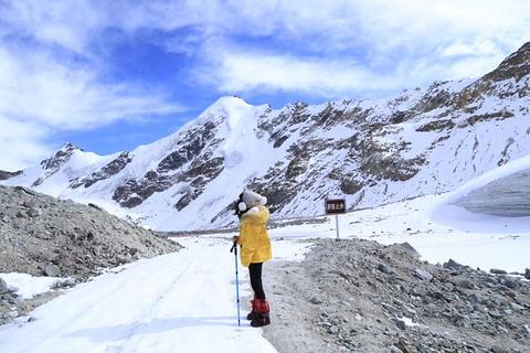 廓琼岗日冰川旅游景点攻略图