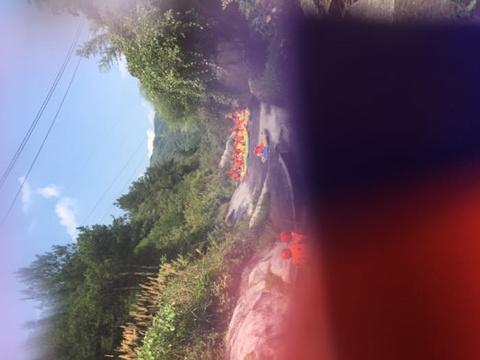 天景山大峡谷漂流旅游景点攻略图
