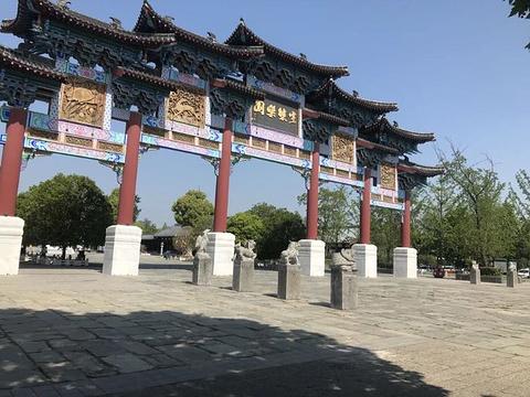 阜阳生态园旅游景点图片