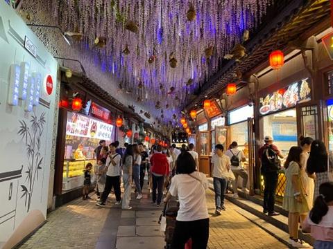 秦淮河旅游景点图片