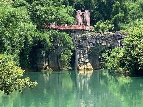 荔波樟江风景名胜区旅游景点图片